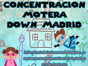 Ilusión y sonrisas en la Concentración Motera Down Madrid