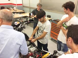 Euromoto85 y Grupo Eina Digital imparten su primer curso presencial