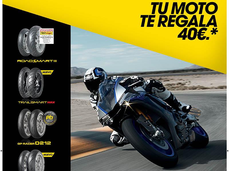 Descuento de 40 euros con la promoción de otoño Dunlop