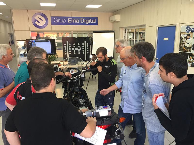 Más formación Euromoto85-Grupo Eina Digital