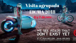 Una delegación de Clustermoto, lista para visitar EICMA 2018