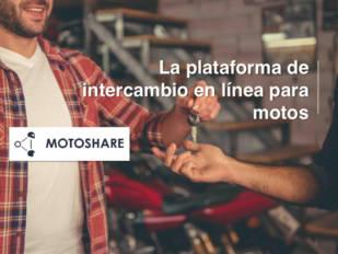 MotoShare, la plataforma para compartir moto, llega a España