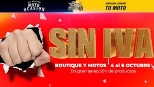 Días sin IVA en El Motorista que celebra su XII Feria Moto Ocasión