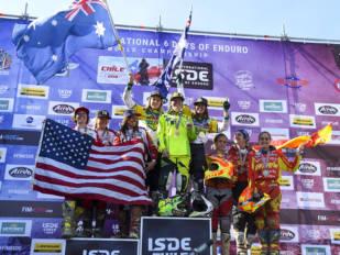 Australia se impone en los ISDE FIM 2018
