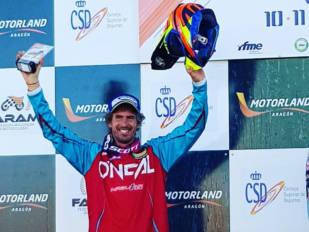 Ramon Brucart, cuarto en el Campeonato de España de Motocross en la categoría Masters 35