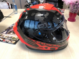 Presentada la gama 2019 de cascos Scorpion Exo