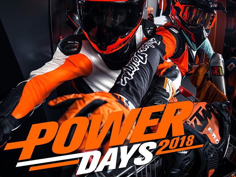 Vuelven los KTM PowerDays 2018
