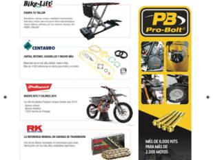 Bihr distribuye lo último de ProBolt, Bike-Lift, Centauro y muchas marcas más