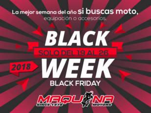 Esta semana es la Black Week de Maquina Motors