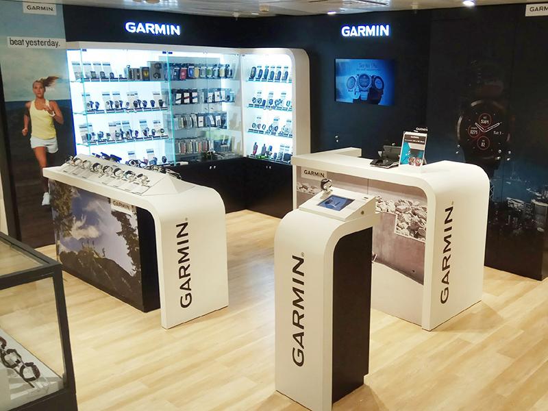 Garmin abre una tienda en Madrid