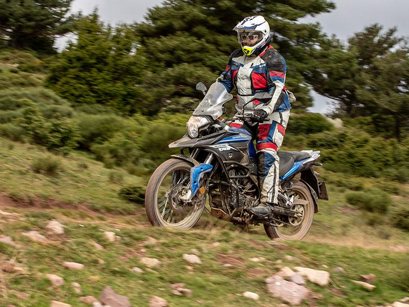 Macbor Montana XR3: Una trail accesible