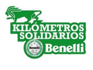Benelli acumula kilómetros para ayudar a la Fundación Aladina