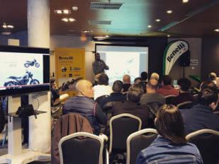 Benelli celebra su convención de concesionarios en Barcelona