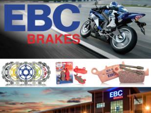Find4u asume la distribución de la línea de motocicleta de EBC Brakes