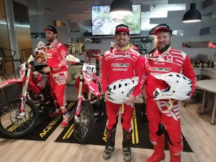 MX Arvi presenta su equipo de enduro