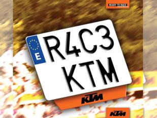 Es el momento de conseguir una KTM con matrícula KTM