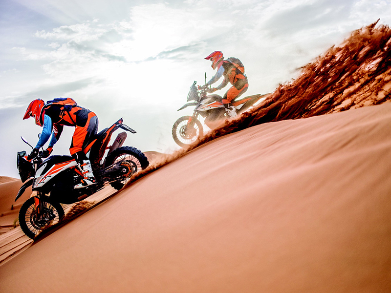 De la KTM Adventure Rally al Rally Merzouga 2019, la KTM Ultimate Race 2019