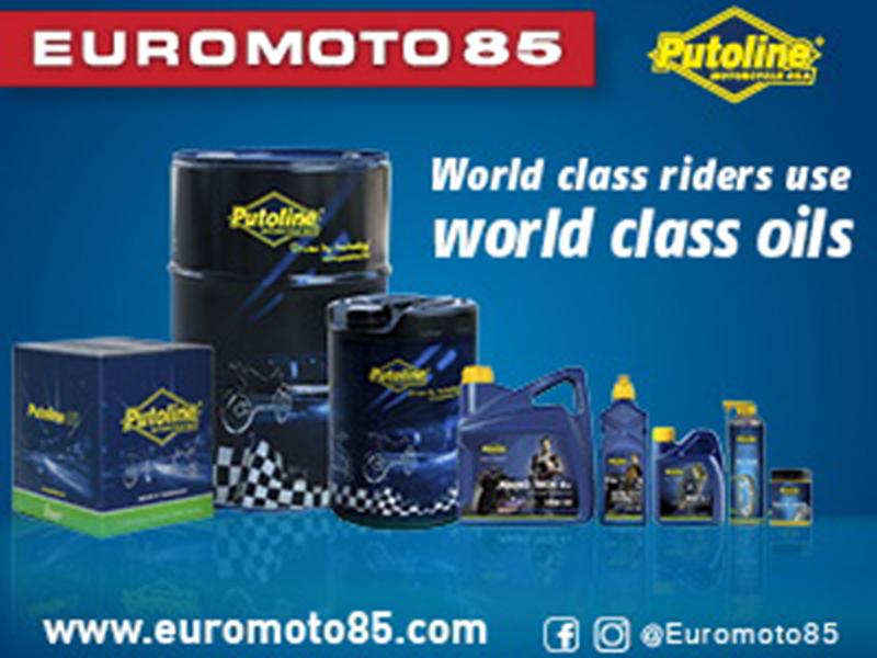 Putoline, otra marca top que se suma al portfolio de producto de Euromoto85