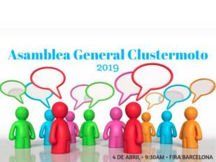 Clustermoto celebrará su asamblea general el 4 de abril en Fira de Barcelona