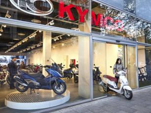 Kymco España abre un 'showroom' en la zona más exclusiva de Madrid
