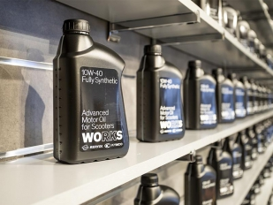 Repsol avala la calidad de Works, el aceite de referencia de los servicios técnicos oficiales Kymco