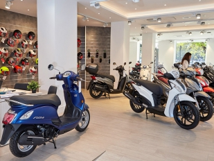 Kymco España abre su primer concesionario propio en Valencia