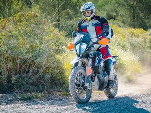 KTM 790 Adventure: La rosa del desierto