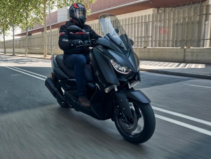 Yamaha X-Max Iron Max: Los detalles cuentan