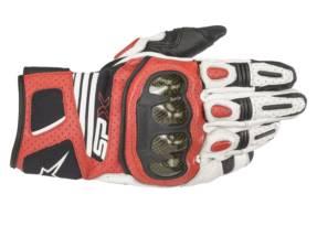 Protección y ligereza con los guantes SP X Air Carbon V2 de Alpinestars