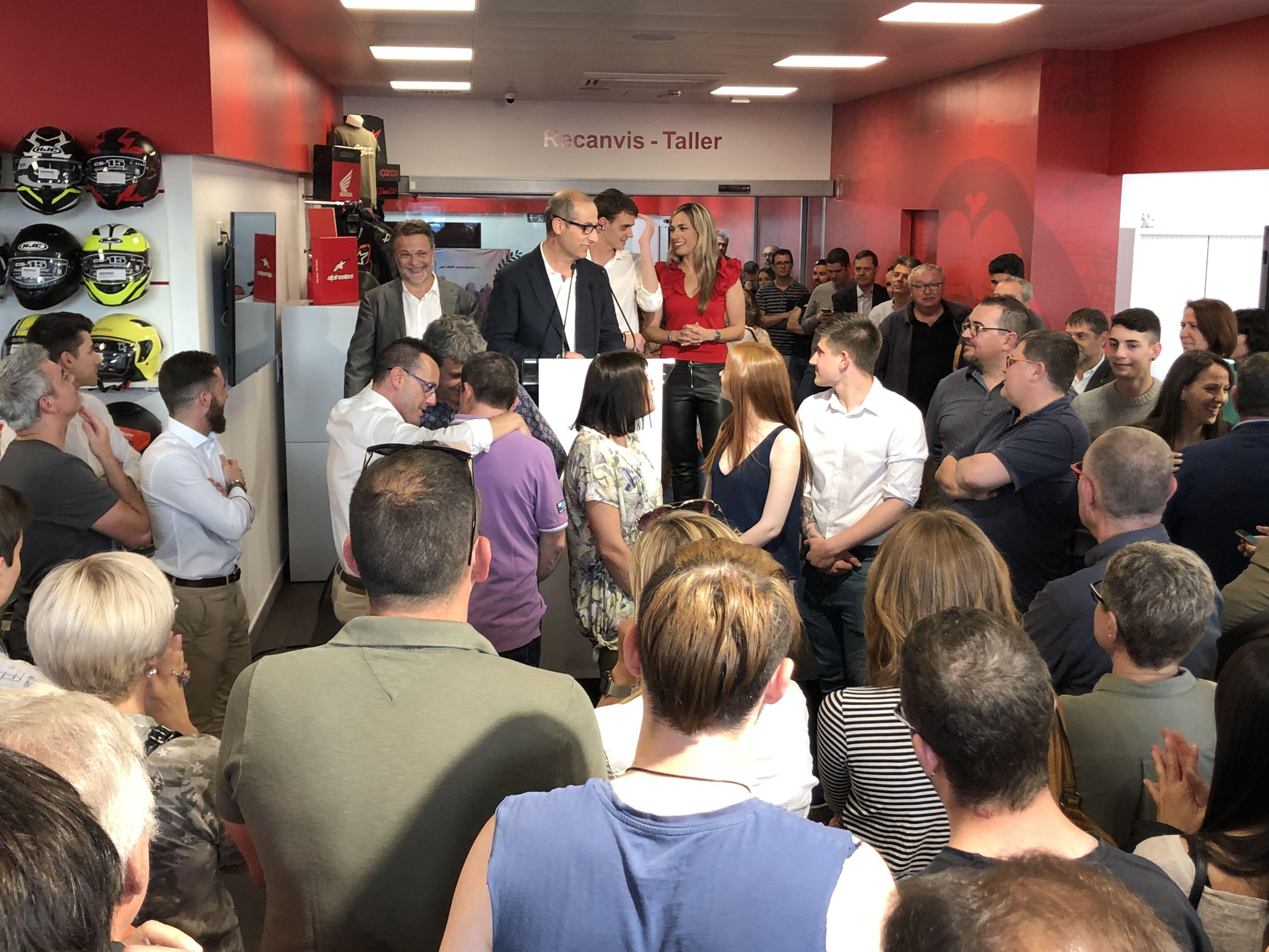 Blanmoto, concesionario oficial Honda en Girona, inaugura sus nuevas instalaciones