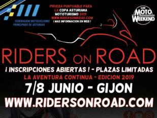 ¡Apúntate a la Riders on Road que el plazo de inscripción finaliza el 19 de mayo!