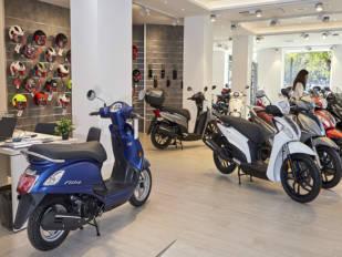Las ventas de motos aumentan un 10,8 por ciento en abril