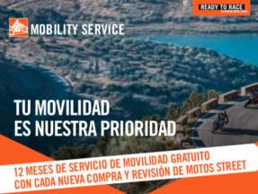 KTM regala un servicio personalizado de movilidad en carretera