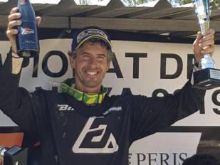 Ramon Brucart prolonga su buena racha y suma una nueva victoria en el Campeonato de Catalunya de Motocross