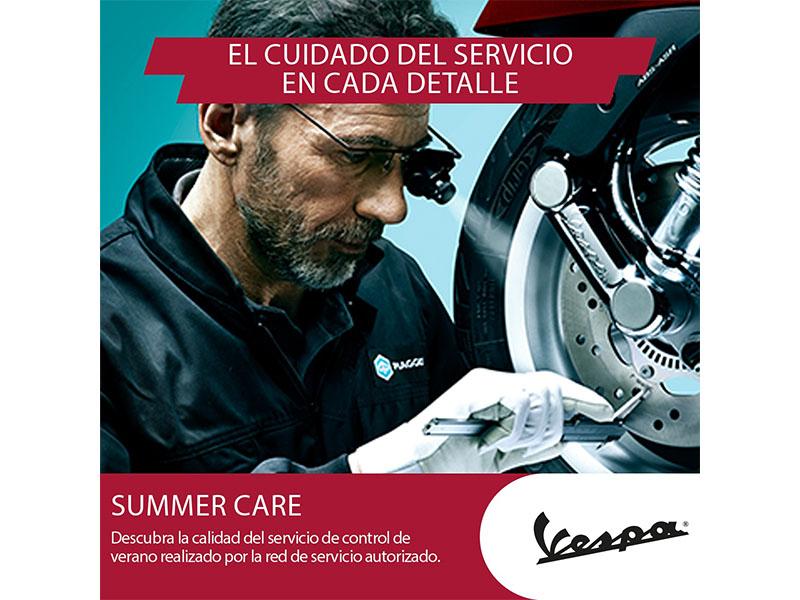 Summer Care 2019, el programa de mantenimiento de verano de Grupo Piaggio