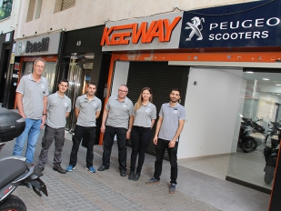 Keeway Center Barcelona se reinventa