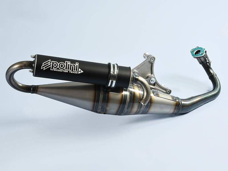 Nuevos escapes Polini para motores Yamaha Minarelli, Piaggio y Peugeot