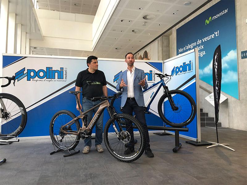 Polini entra en el mercado español de e-bikes con Berria
