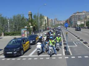 Electroquedada: la primera ruta urbana 100% sostenible de Barcelona