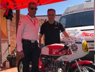 Larsson intensifica su colaboración en el GP de La Bañeza