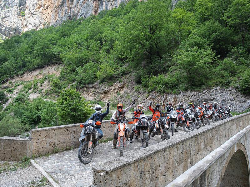 Celebrada con éxito la tercera edición de la KTM Adventure Rally