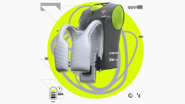 Dainese lanza su Smart Jacket con tecnología D-air