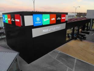 Mas Little Italy es la nueva casa del Grupo Piaggio en Leganés