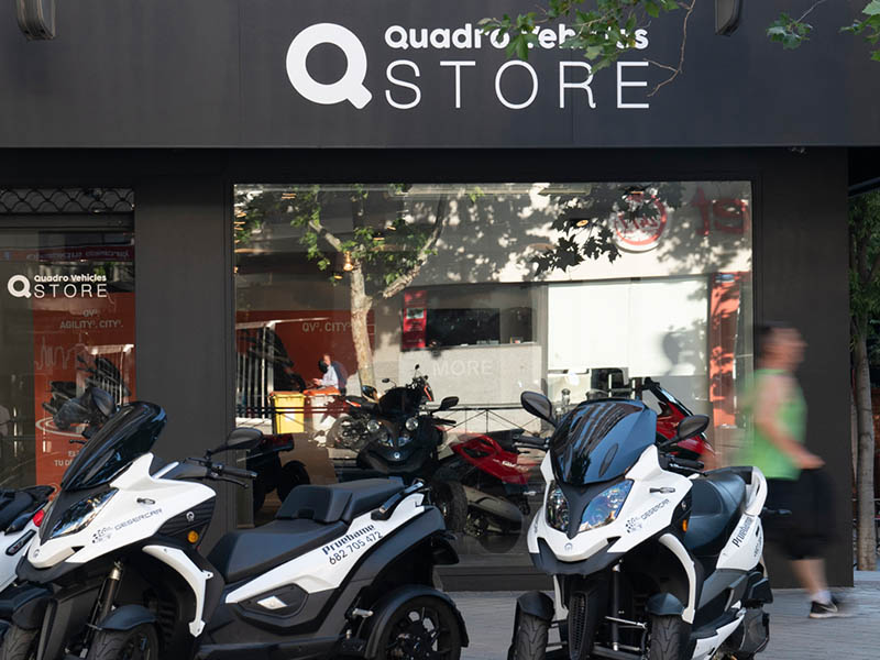Quadro Vehicles incorpora nueve puntos de venta a su red