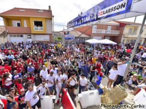Larsson, protagonista en el Gran Premio de La Bañeza