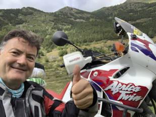 """""""Con la moto en la maleta"""", descubriendo el Pallars Jussà con Josep M. Lledós (TwinTrips)"""