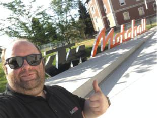 De los primeros en visitar el KTM Motohall