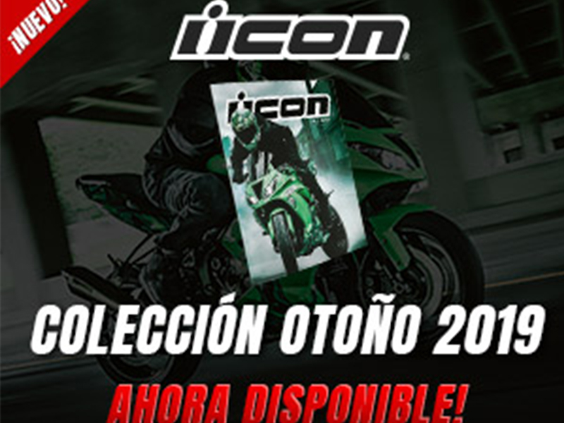 Icon presenta el catálogo de otoño 2019