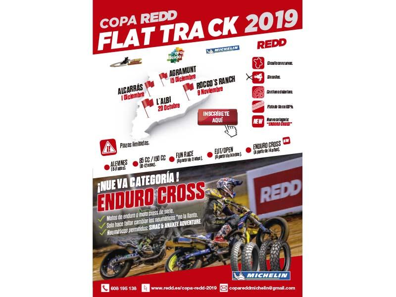 Espectáculo asegurado en la Copa REDD Flat Track 2019