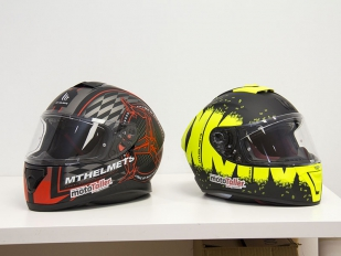 Cascos MT Helmets Thunder 3 SV y Blade 2 SV: Siempre más arriba